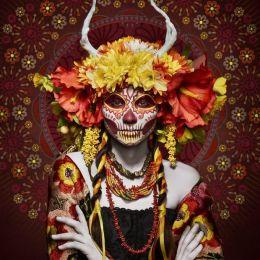 Tim Tadder 骷髅面具 时尚摄影欣赏