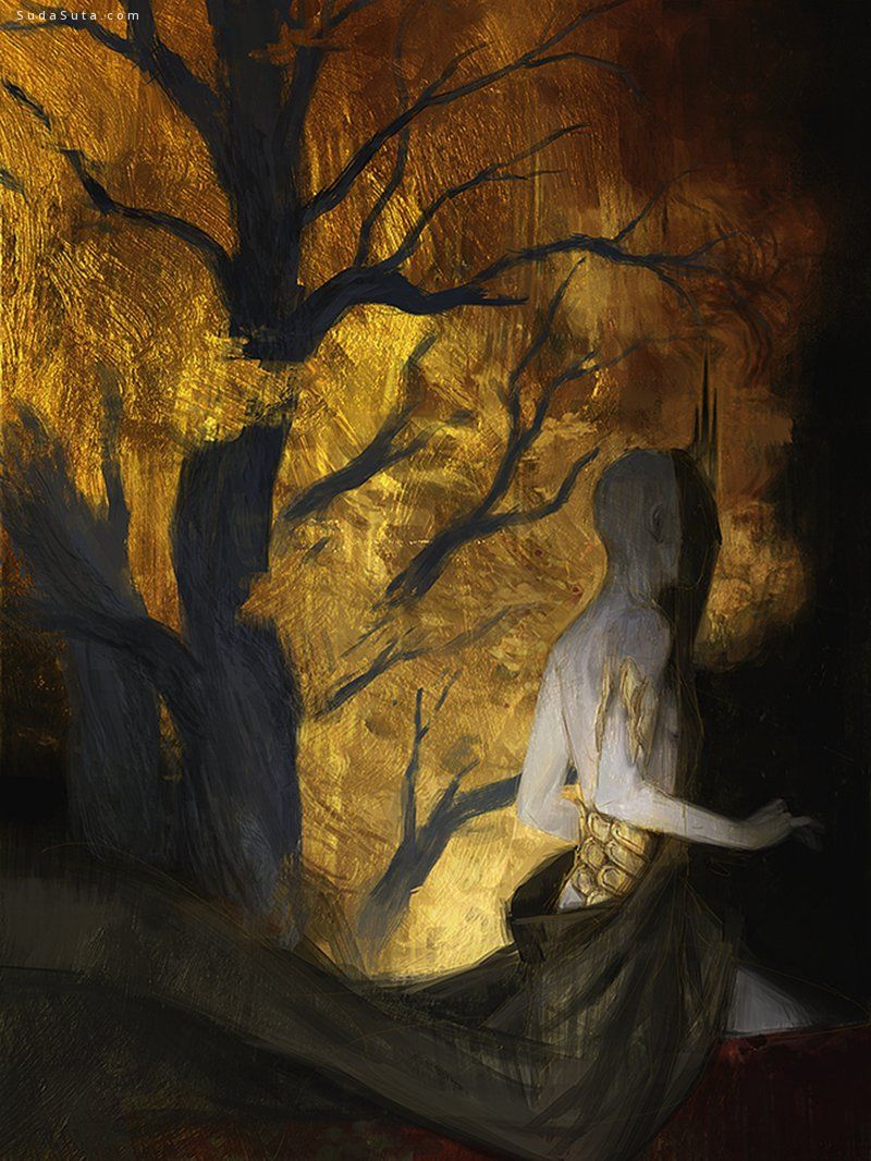 Tobias Kwan 如梦魇般的数字艺术绘画