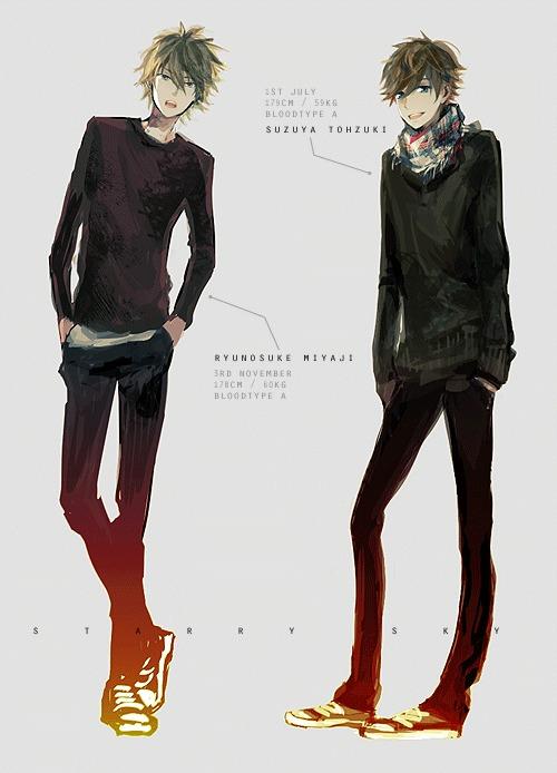 Tuwa 青春与少年 漫画CG欣赏