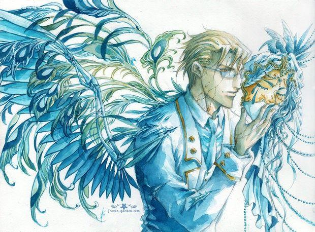 Yami-Hydran 水彩同人插画欣赏