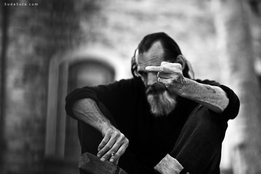 Gábor Erdélyi 黑白摄影欣赏 静默的街道