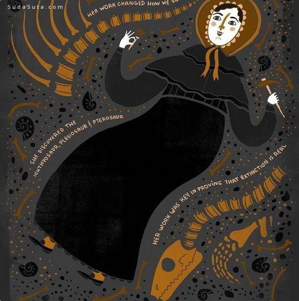 Rache lignotofsky 可爱的幽默插画欣赏
