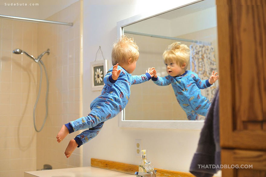 Alan Lawrence 飞翔的宝宝 儿童摄影欣赏