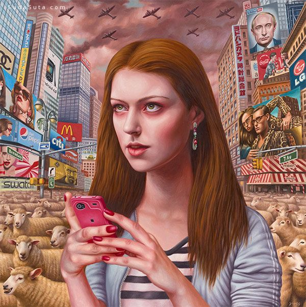 Alex Gross 绘画艺术欣赏