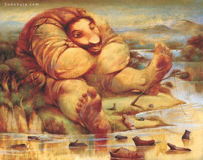 Alexander Daniloff 绘画艺术欣赏