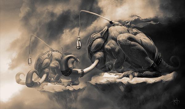 Alexey Kashpersky 数字艺术作品欣赏