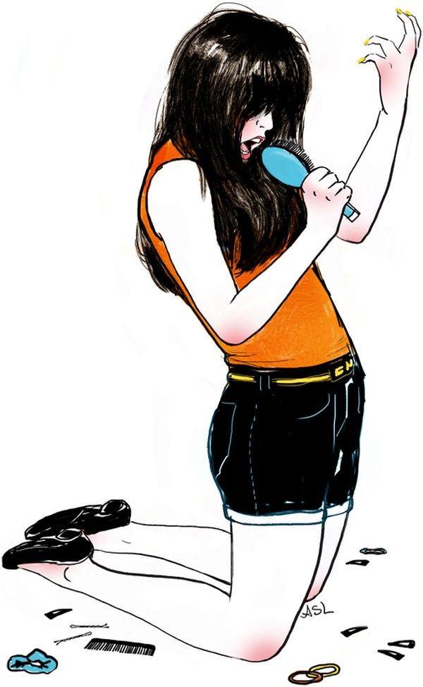 Amanda Lanzone 潮流卡通插画欣赏