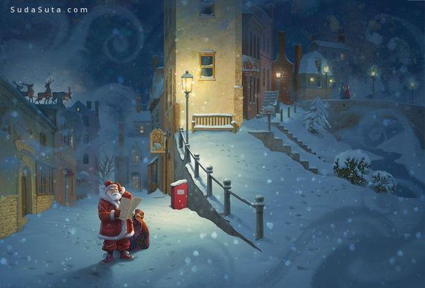 Antonio Caparo 圣诞老人和鲁道夫