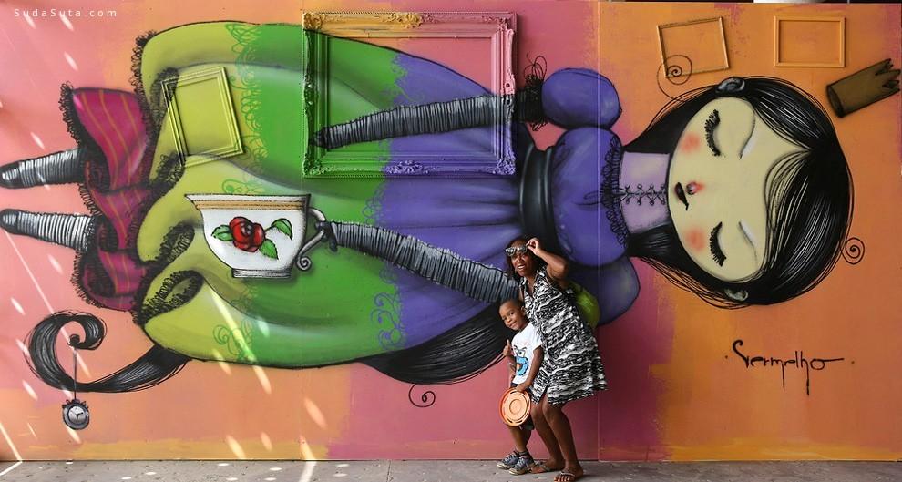 Brazil Graffiti Biennial 街头绘画欣赏