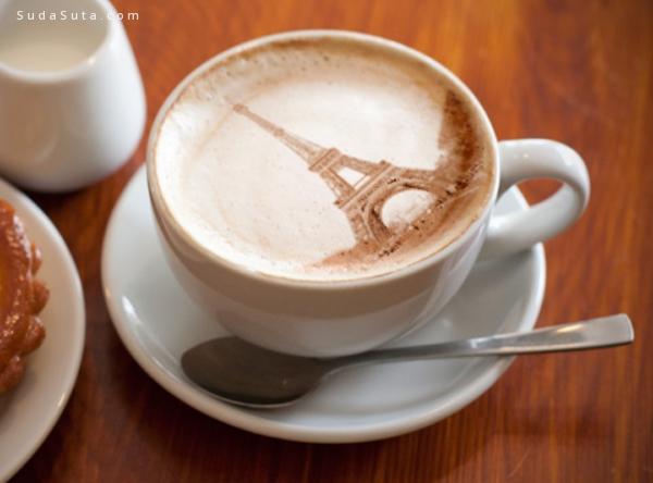 不可思议的拿铁咖啡艺术