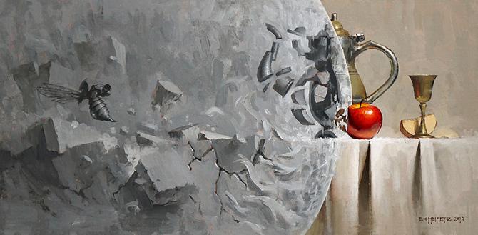David Cheifetz 静物插画欣赏
