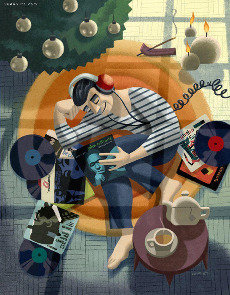 David de Ramon 个人插画作品欣赏