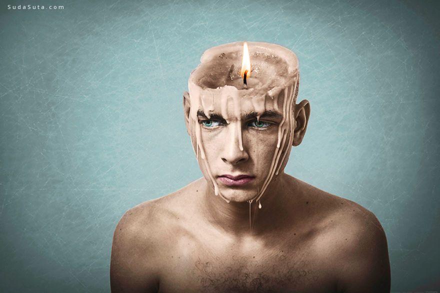 Fran Carneros 超现实主义照片合成作品欣赏