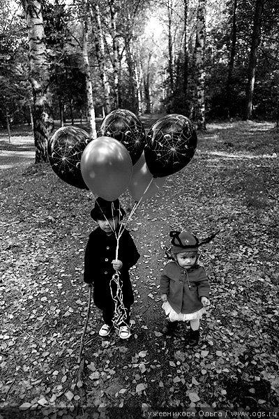 Гужевникова Ольга 黑白儿童摄影欣赏