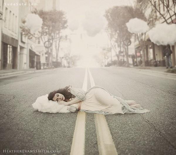 Heather Evans Smith 超现实主义照片合成作品欣赏