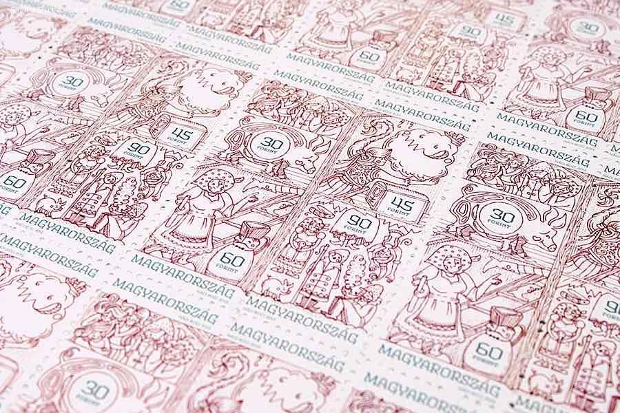Hungary 细腻唯美的邮票设计欣赏