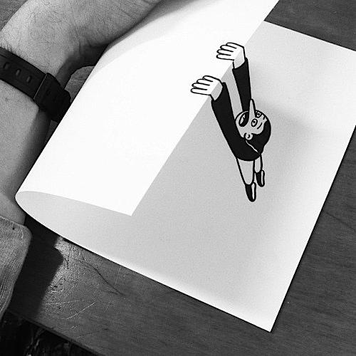 Husk Mit Navn 纸张的艺术 童趣手绘创意艺术欣赏