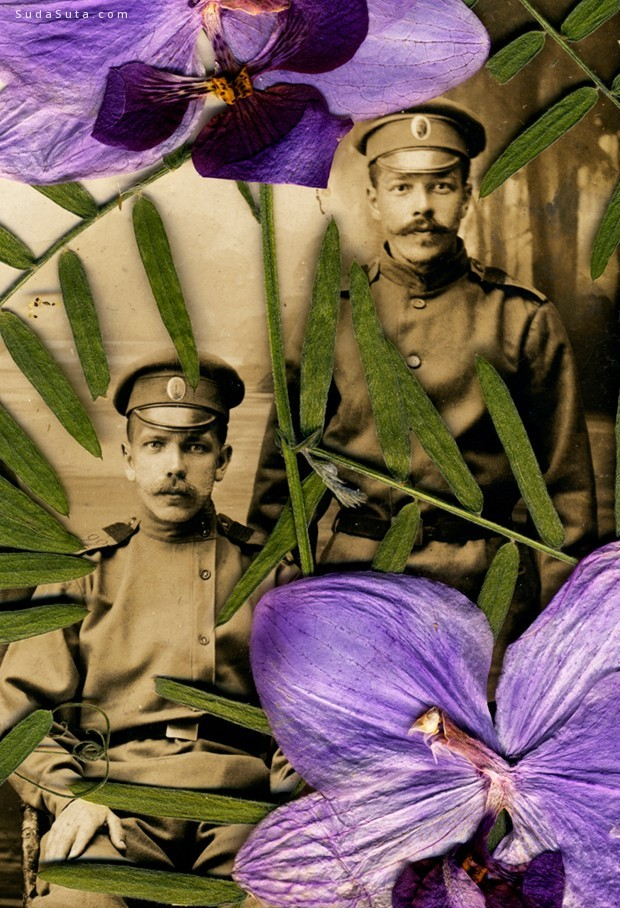 不可思议的双胞胎人像摄影欣赏