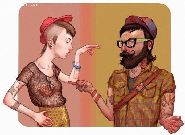 Jacob Sanders 卡通插画欣赏