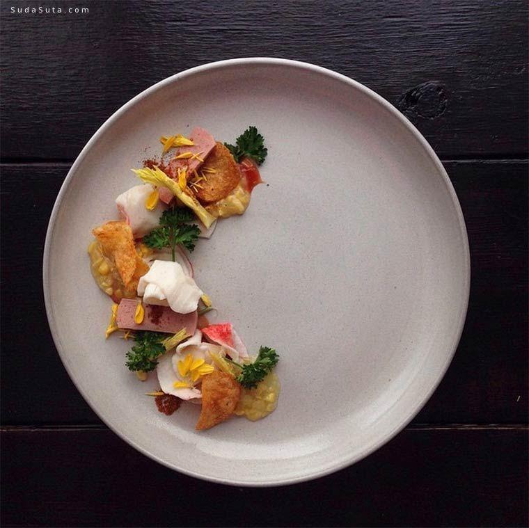 Jacques Lamerde 美食艺术欣赏
