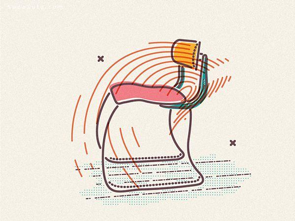James Oconnell 线条与颜色 插画作品欣赏