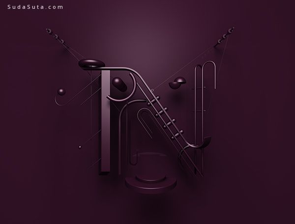 Jaroslav Hach 形状字体设计欣赏