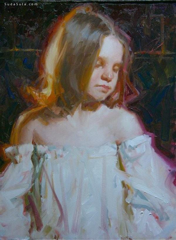 Kevin Beilfuss 优雅细腻的手绘艺术欣赏