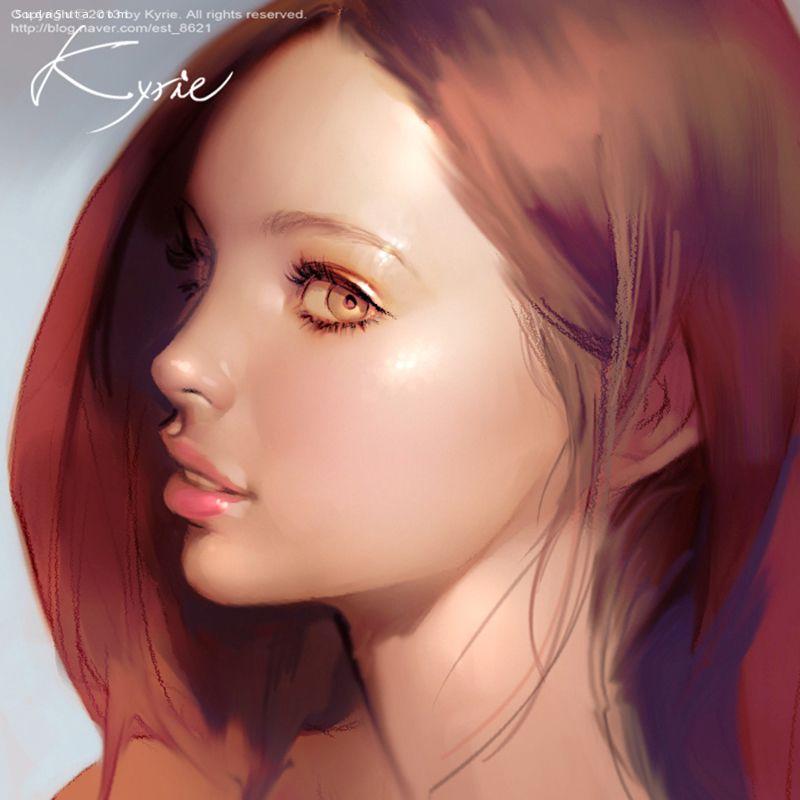 Kyrie-数字人物绘画