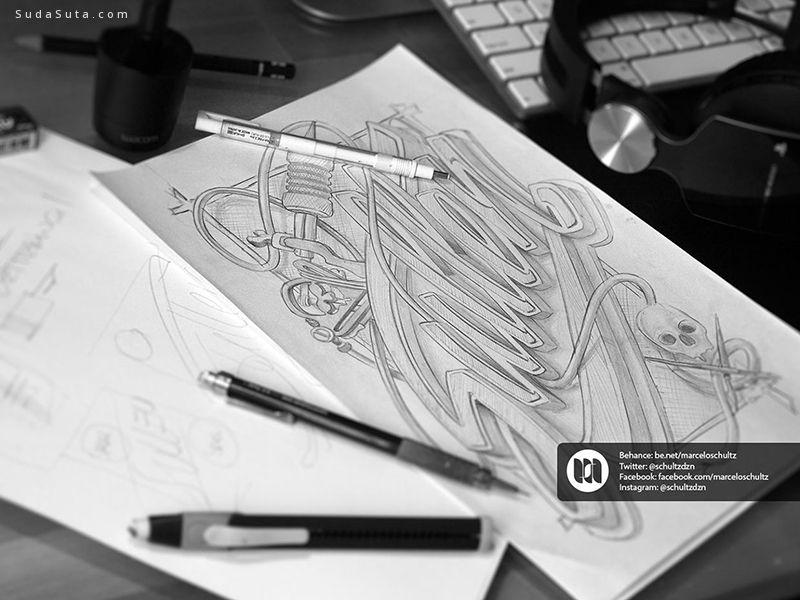 Marcelo Schultz 字体排版设计欣赏