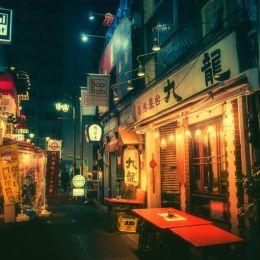 Masashi Wakui 旅行日记 东京的夜晚