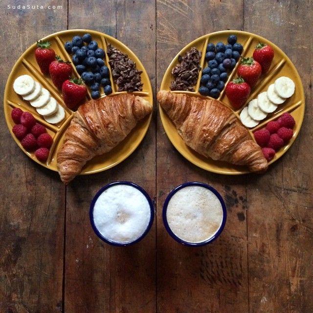 Michael Zee 对称的美食艺术欣赏