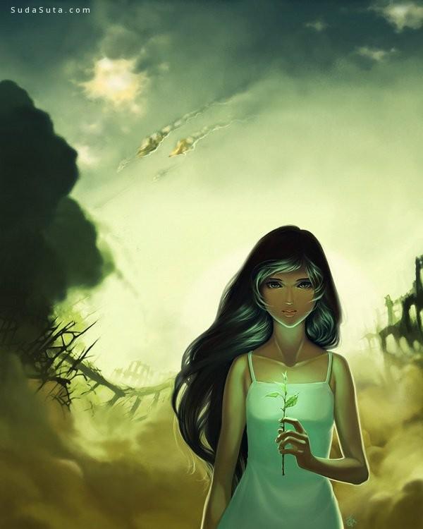 Michelle Chuang 卡通漫画欣赏