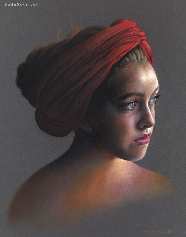 Miriam Escofet 肖像插画欣赏