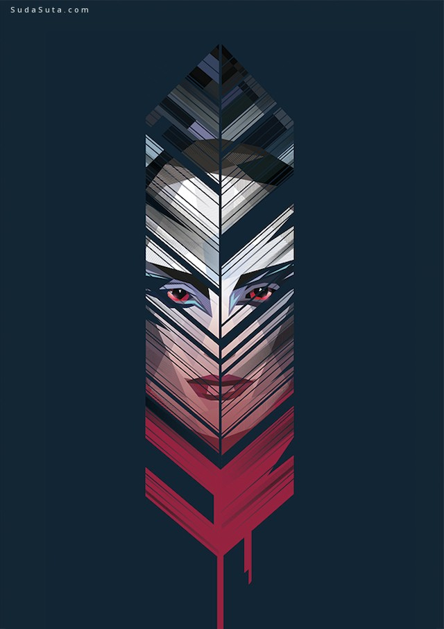 Mobokeh 超级英雄电影海报设计欣赏