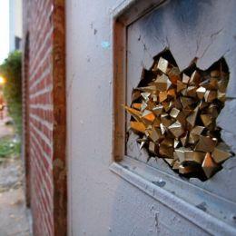 Paige Smith 城市中的结晶 街头艺术欣赏
