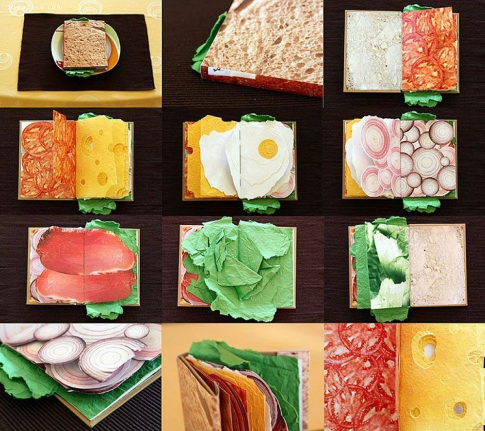 Pawel Piotrowski 有趣的三明治手工书
