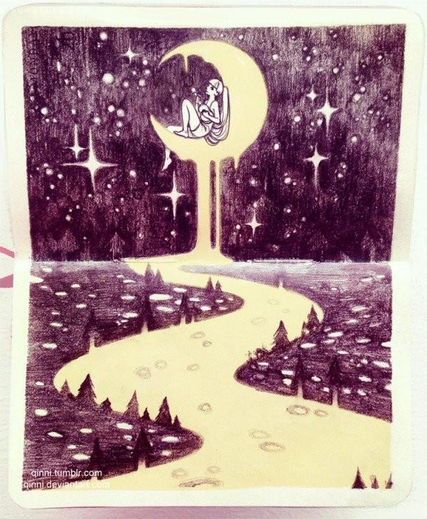Qinni 数字艺术插画欣赏