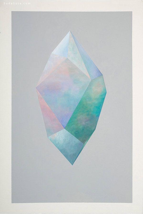 Rebecca Chaperon 水晶绘画