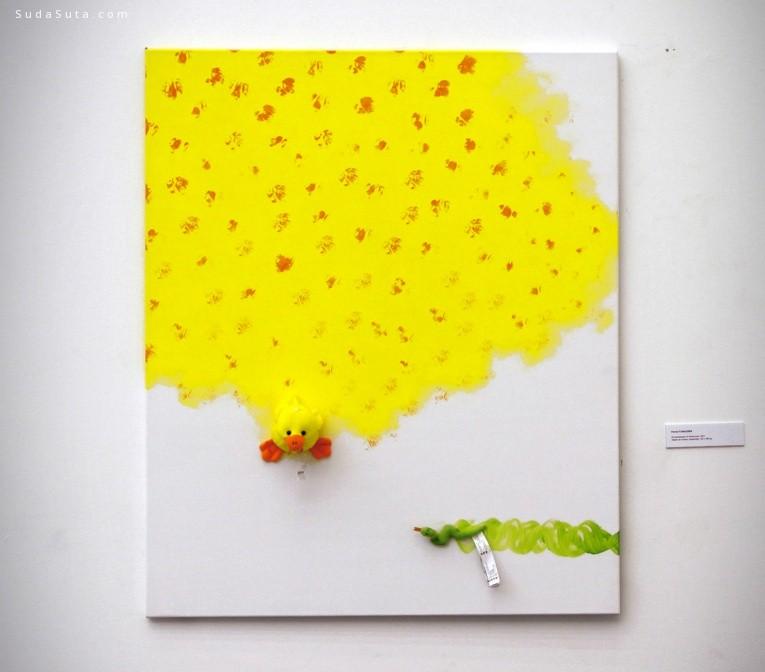 Rostan Tavasiev 用玩具作画