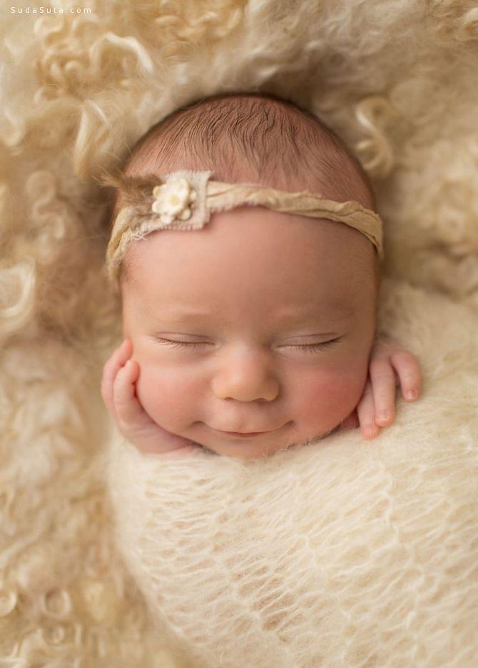 Sandi Ford 孩子睡得很香甜