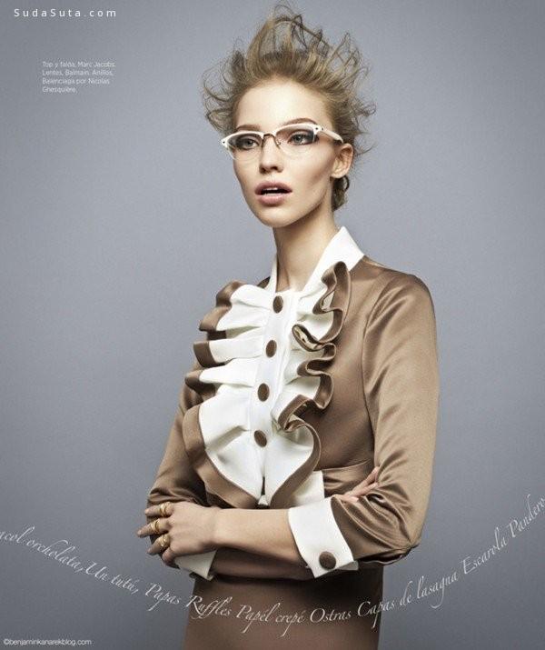 Sasha Luss 时尚摄影欣赏