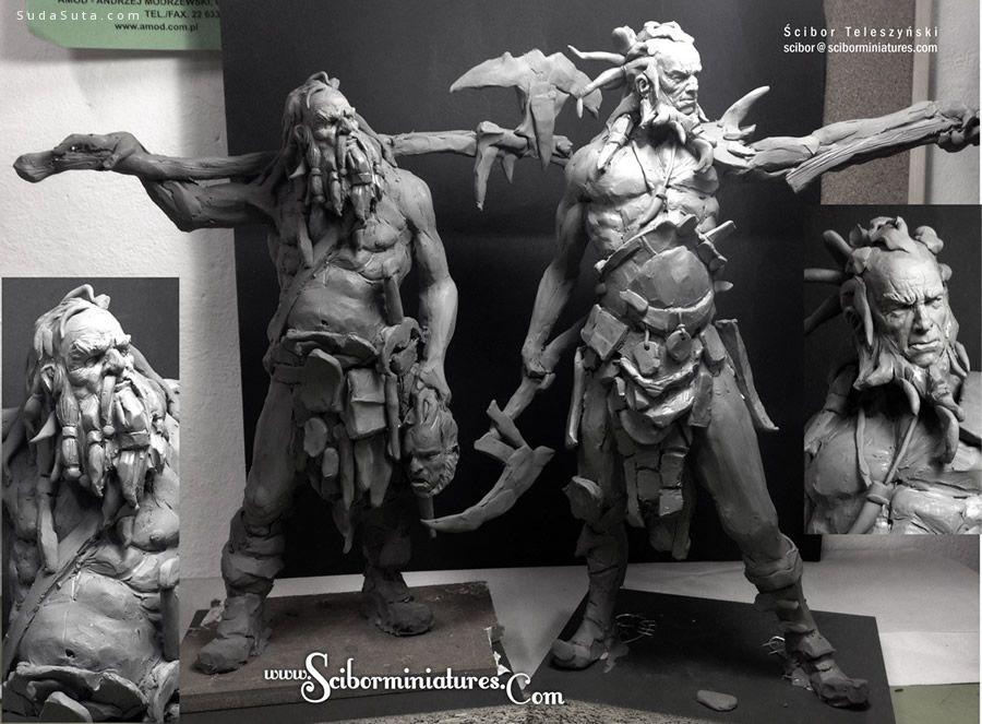 Scibor Teleszynski 造型雕塑设计欣赏