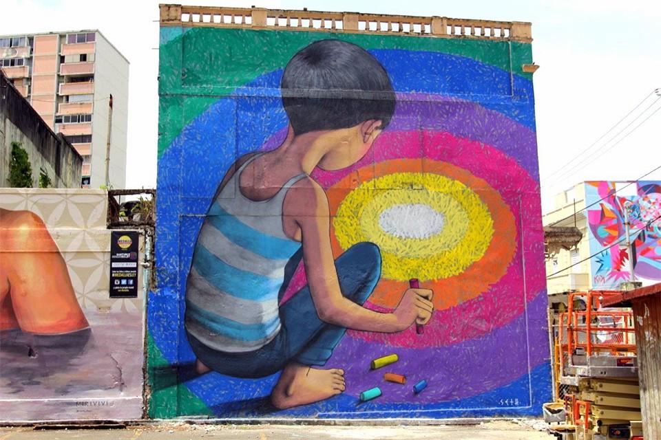 Seth Globepainter 街头的孩子们 城市艺术欣赏