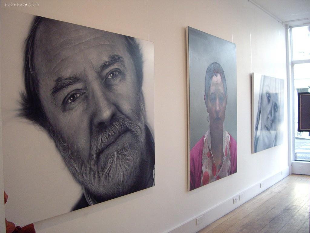 Simon Hennessey 超现实主义人像手绘艺术欣赏