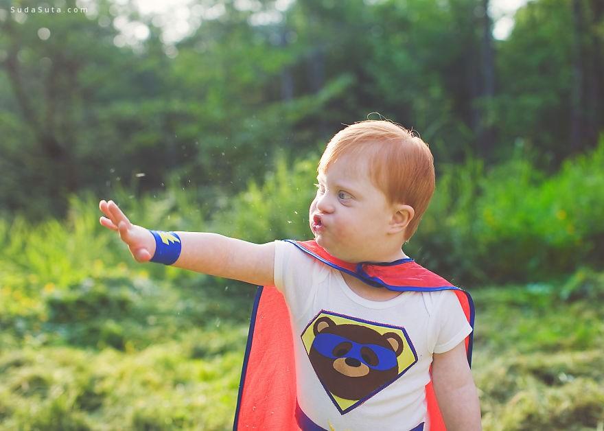 儿童摄影欣赏 超级英雄计划