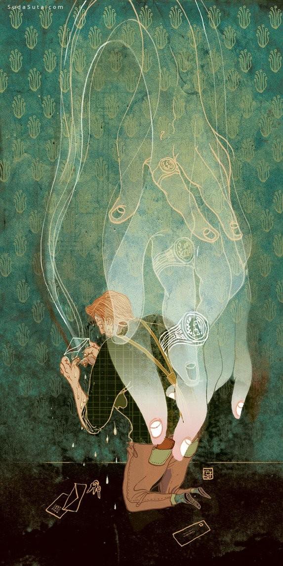 Victo Ngai 细腻唯美的装饰插画欣赏