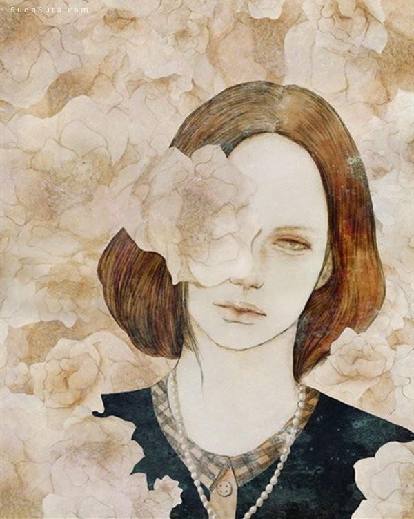 Voider Sun(孙十七) 细腻羞涩的绘画艺术