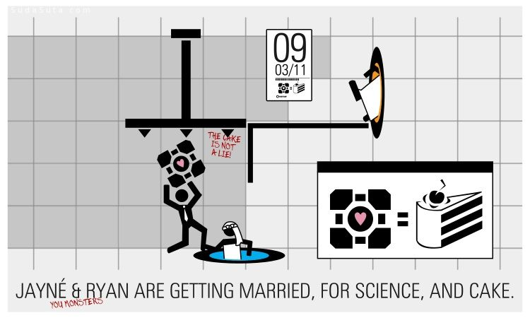 可爱有趣的婚礼请柬设计欣赏