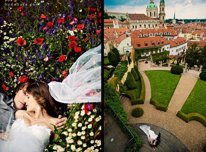 Kamil Saliba 和 Simona Smrčková 婚礼摄影欣赏