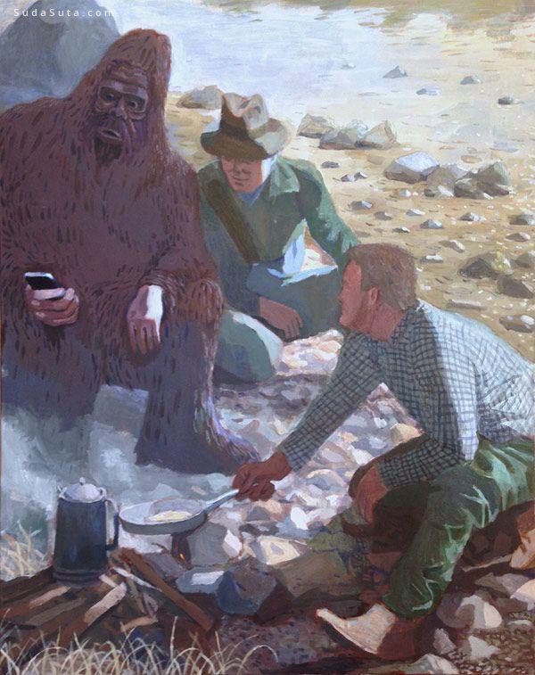 Woodrow White 绘画艺术欣赏